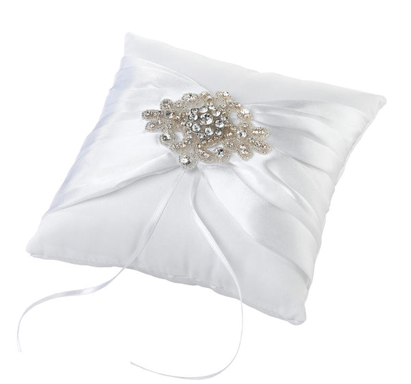 Jeweled Motif Ring Pillow-Ring Pillow-Here Comes The Bling™