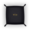 Jewelry Tray with Line Monogram Embossed-Jewelry Tray-Here Comes The Bling™
