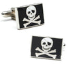 Jolly Rodger Flag Cufflinks-Cufflinks-Here Comes The Bling™
