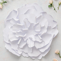 Large DIY Paper Peony Decor Flower White-Decor-Hanging-Here Comes The Bling™