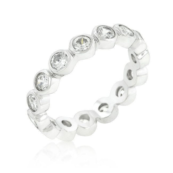 Linked Bezel Eternity Band-Rings-Here Comes The Bling™