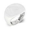 Liquid Silver Fashion Ring-Rings-Here Comes The Bling™