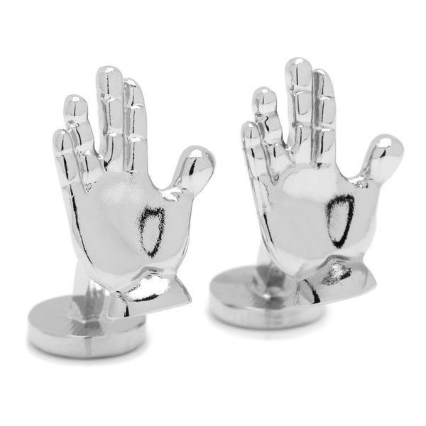 Live Long and Prosper Cufflinks-Cufflinks-Here Comes The Bling™