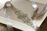 London Bridal Sash by Millieicaro-Sash-Here Comes The Bling™