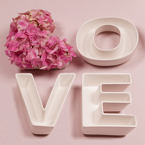 """LOVE"" Plates Set-Decor-Table-Here Comes The Bling™"