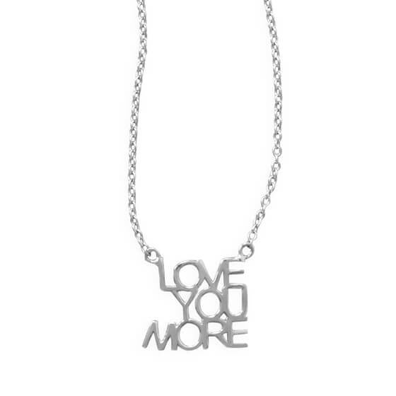 Love You More Necklace-Necklaces-Here Comes The Bling™
