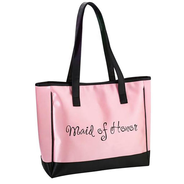 Maid Of Honor Tote-Tote Bags-Here Comes The Bling™