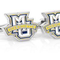 Marquette Golden Eagle Cufflinks-Cufflinks-Here Comes The Bling™