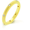 Matte Gold Wedding Band-Rings-Here Comes The Bling™