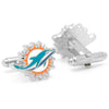 Miami Dolphins Cufflinks-Cufflinks-Here Comes The Bling™
