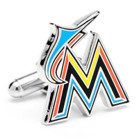 Miami Marlins Cufflinks-Cufflinks-Here Comes The Bling™