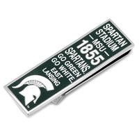 Michigan State Spartan Pride Money Clip-Money Clip-Here Comes The Bling™