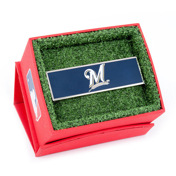 Milwaukee Brewers Money Clip-Money Clip-Here Comes The Bling™