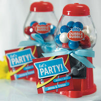 Mini Classic Red Gumball Machine-Favors-Edible-Here Comes The Bling™