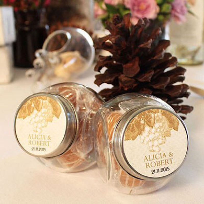 Mini Glass Candy Jar With Lid Pack Of 12