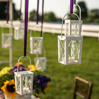 Mini Hanging Lanterns (Pack of 2)-Decor-Hanging-Here Comes The Bling™
