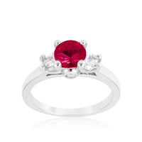 Mini Pink Tourmaline Triplet Ring-Rings-Here Comes The Bling™