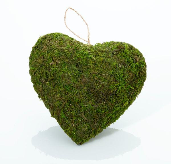 Moss Hanging Heart-Decor-Hanging-Here Comes The Bling™