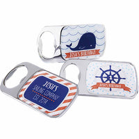 Nautical Birthday Bottle Openers ( Set of 24)-Favors-Bottle Opener-Here Comes The Bling™