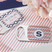 Nautical Bridal Shower Bottle Openers ( Set of 24)-Favors-Bottle Opener-Here Comes The Bling™
