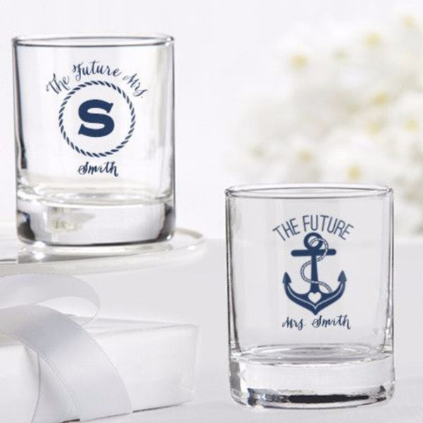 Nautical Bridal Shower Collection-Favors-Candle Holders-Here Comes The Bling™