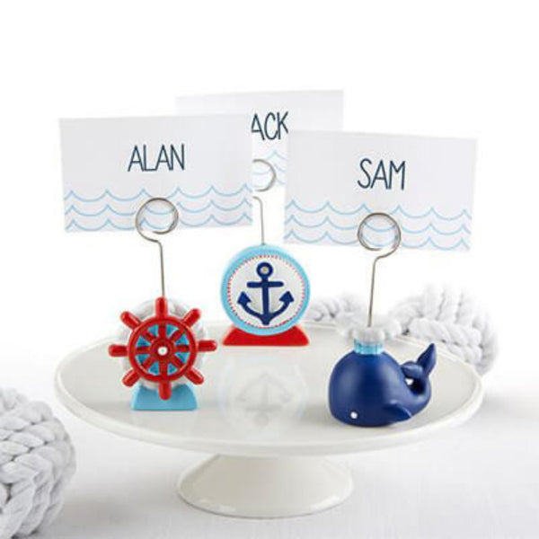 Nautical Place Card Holders - Assorted (Set of 24)