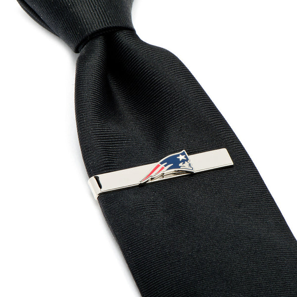 New England Patriots Tie Bar-Tie Bar/Tie Clip-Here Comes The Bling™