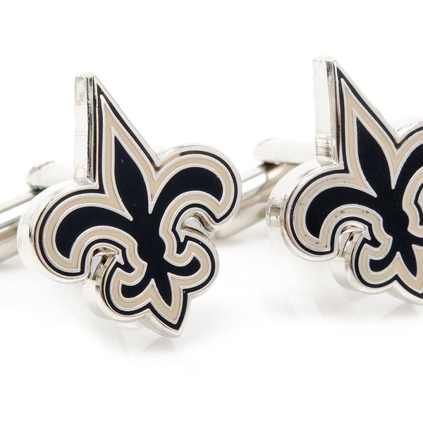New Orleans Saints Cufflinks-Cufflinks-Here Comes The Bling™