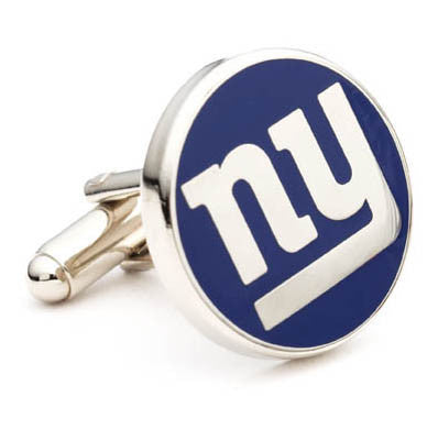 New York Giants Cufflinks-Cufflinks-Here Comes The Bling™