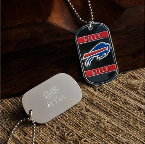 NFL Dog Tag - BILLS-Dog-Tag-Necklace-Here Comes The Bling™