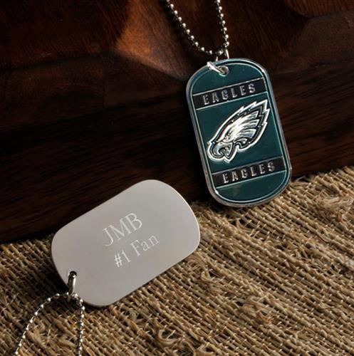 NFL Dog Tag - EAGLES-Dog-Tag-Necklace-Here Comes The Bling™