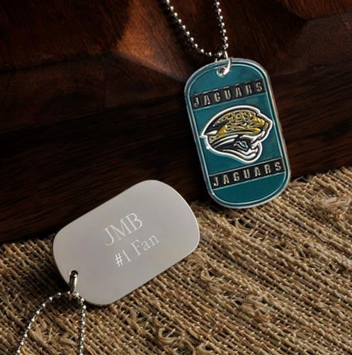 NFL Dog Tag - JAGUARS-Dog-Tag-Necklace-Here Comes The Bling™