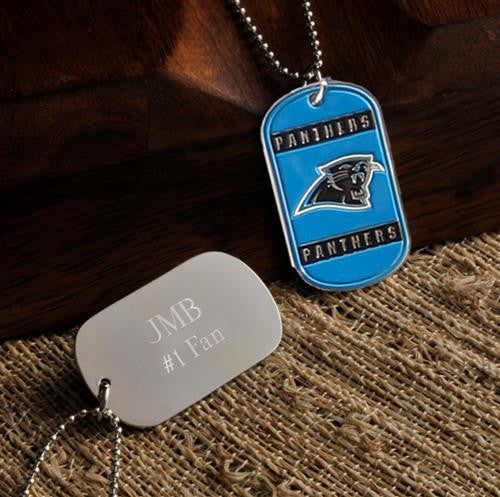 NFL Dog Tag - PANTHERS-Dog-Tag-Necklace-Here Comes The Bling™