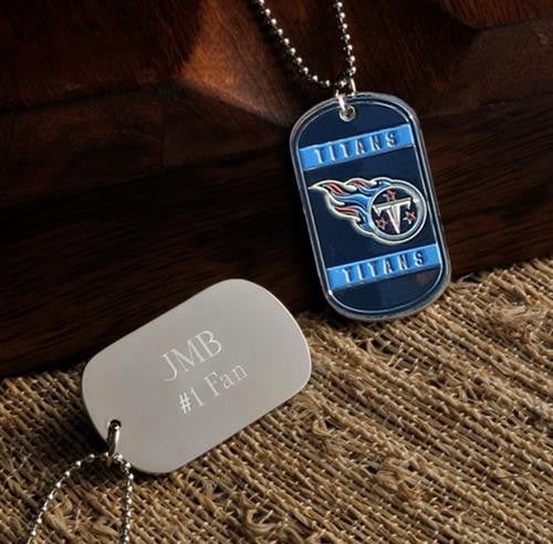 NFL Dog Tag - TITANS-Dog-Tag-Necklace-Here Comes The Bling™