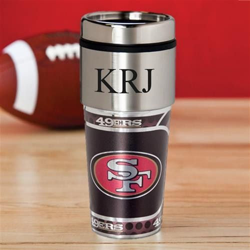 NFL Hot/Cold Tumbler 17 oz. - 49ERS-Travel Mugs-Here Comes The Bling™