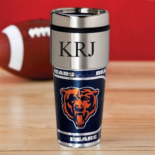 NFL Hot/Cold Tumbler 17 oz. - Bears-Travel Mugs-Here Comes The Bling™