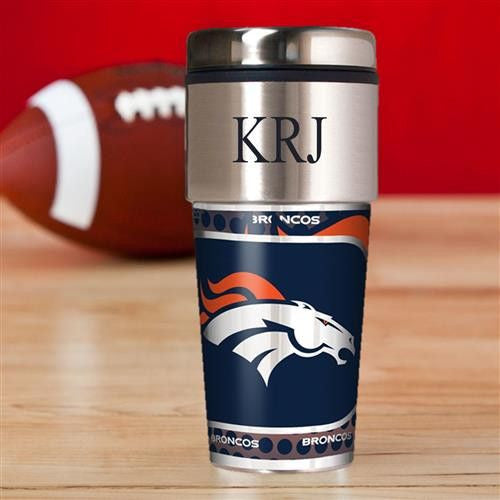 NFL Hot/Cold Tumbler 17 oz. - Broncos-Travel Mugs-Here Comes The Bling™