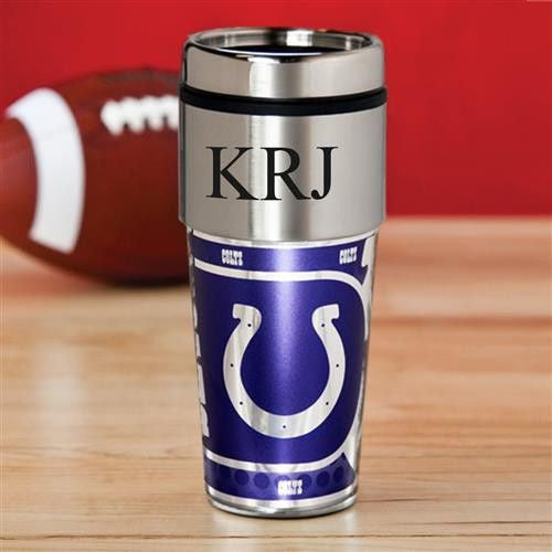NFL Hot/Cold Tumbler 17 oz. - Colts-Travel Mugs-Here Comes The Bling™
