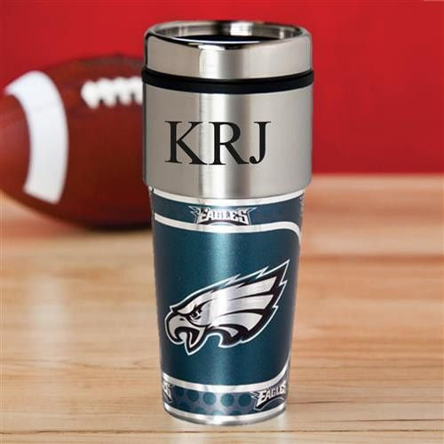 NFL Hot/Cold Tumbler 17 oz. - EAGLES-Travel Mugs-Here Comes The Bling™