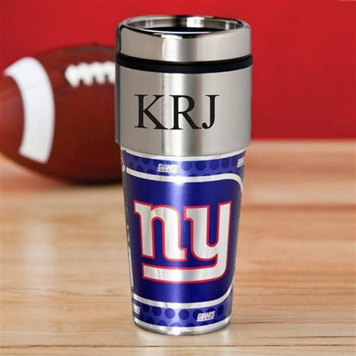 NFL Hot/Cold Tumbler 17 oz. - GIANTS-Travel Mugs-Here Comes The Bling™