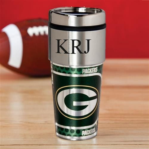 NFL Hot/Cold Tumbler 17 oz. - PACKERS-Travel Mugs-Here Comes The Bling™