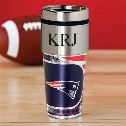 NFL Hot/Cold Tumbler 17 oz. - PATRIOTS-Travel Mugs-Here Comes The Bling™