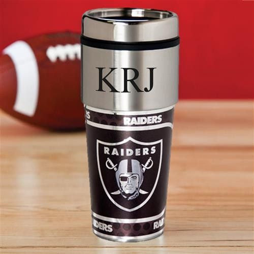 NFL Hot/Cold Tumbler 17 oz. - RAIDERS-Travel Mugs-Here Comes The Bling™