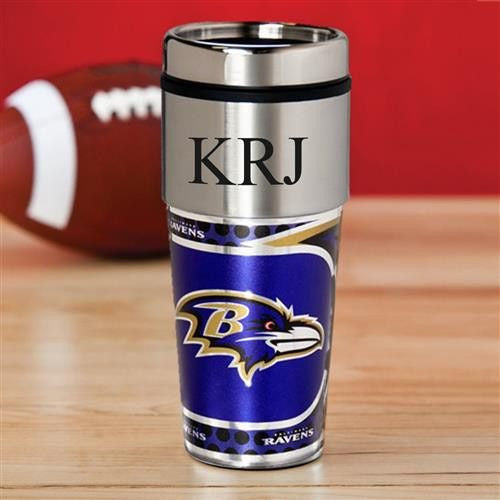 NFL Hot/Cold Tumbler 17 oz. - RAVENS-Travel Mugs-Here Comes The Bling™