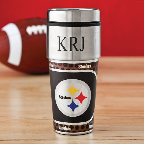 NFL Hot/Cold Tumbler 17 oz. - STEELERS-Travel Mugs-Here Comes The Bling™