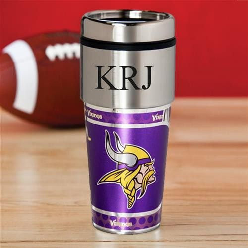 NFL Hot/Cold Tumbler 17 oz. - VIKINGS-Travel Mugs-Here Comes The Bling™