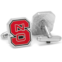 North Carolina State Wolfpack Cufflinks-Cufflinks-Here Comes The Bling™
