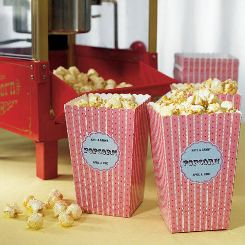 Novelty Popcorn Cartons Pack of 12-Favors-Containers-Here Comes The Bling™