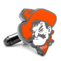Oklahoma State University Pistol Pete Cufflinks-Cufflinks-Here Comes The Bling™