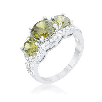 Olive Classic Trio Ring-Rings-Here Comes The Bling